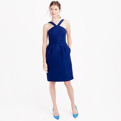 Lexie dress in classic faille
