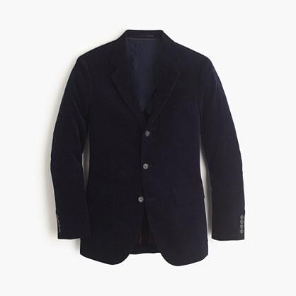Ludlow fielding suit jacket in Italian corduroy
