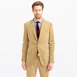 Ludlow fielding suit jacket in Italian corduroy