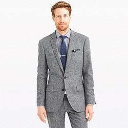 Ludlow suit jacket in English Donegal tweed
