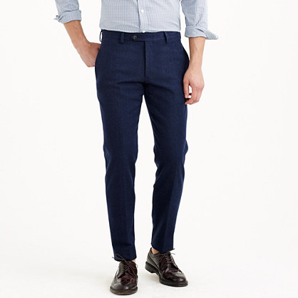 Ludlow suit pant in water-resistant Italian wool