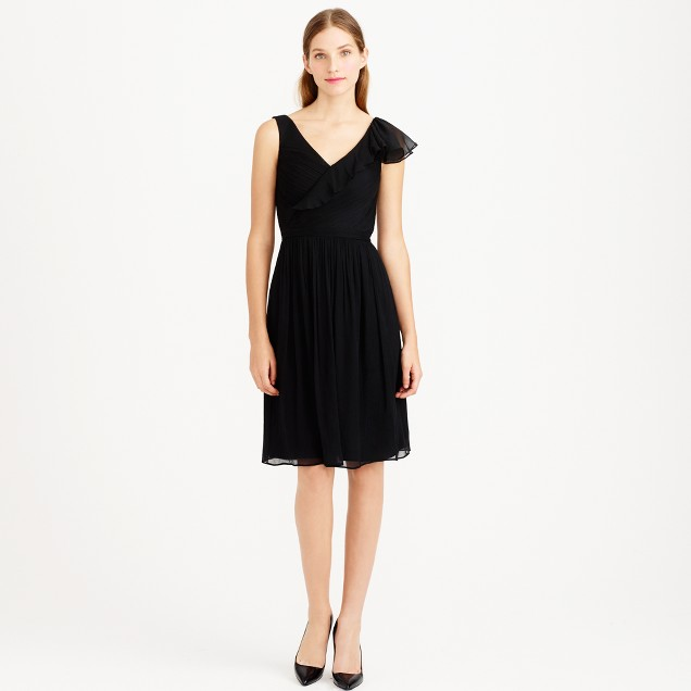 Serena dress in silk chiffon