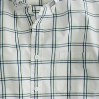 Secret Wash shirt in gatehouse green check