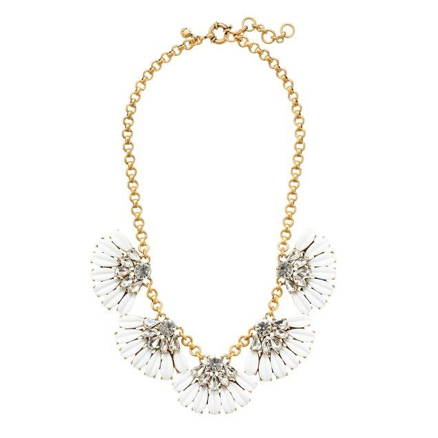 Daisy petal necklace