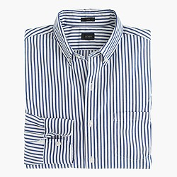 Secret Wash shirt in oxbow blue stripe