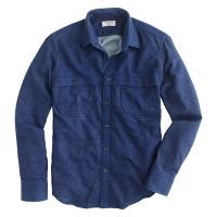 Wallace & Barnes indigo welding shirt