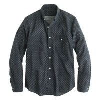 Secret Wash shirt in crosshatch print