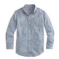 Boys' Secret Wash shirt in blue stripe