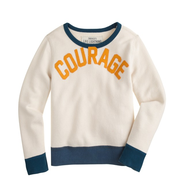 Boys' courage sweatshirt