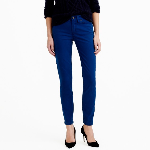 Tall sateen toothpick pant