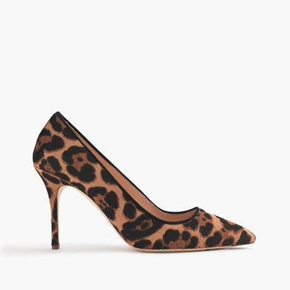 Collection Elsie calf hair pumps