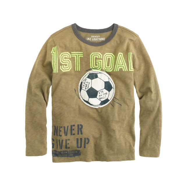 Boys' soccer T-shirt