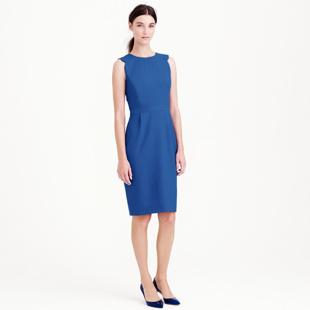 Casey dress in wool crepe