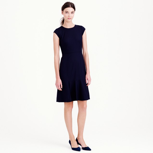 Rory dress in Super 120s wool