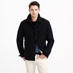 Tall skiff jacket with sherpa lining