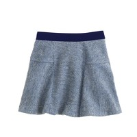 Girls' fluted skirt