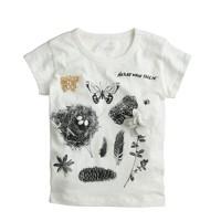 Girls' nature walk T-shirt