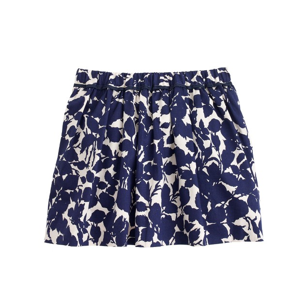 Girls' evening primrose skirt