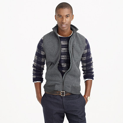 Summit fleece vest