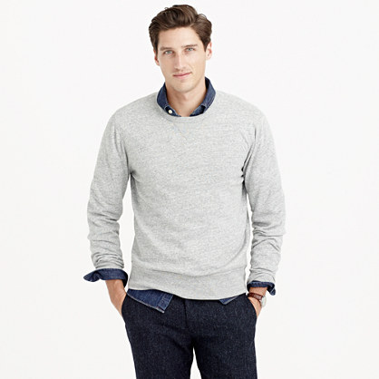 Slim lightweight sweatshirt