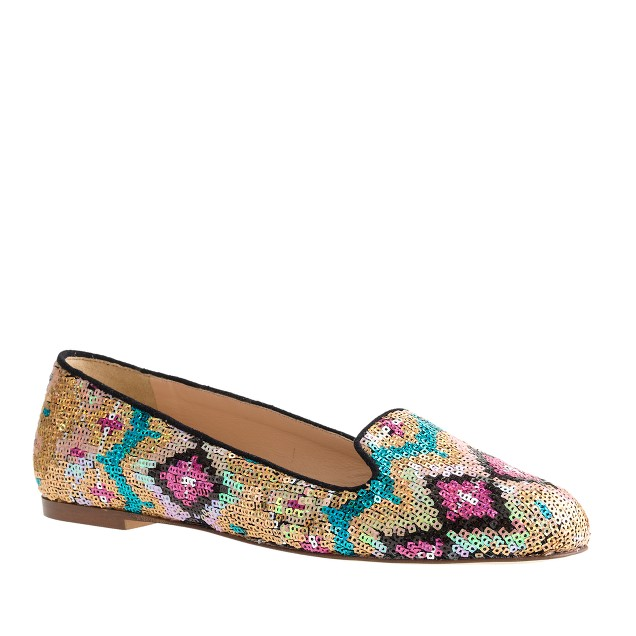 Sophie sequin loafers
