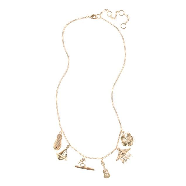 Girls' Hawaii charm necklace