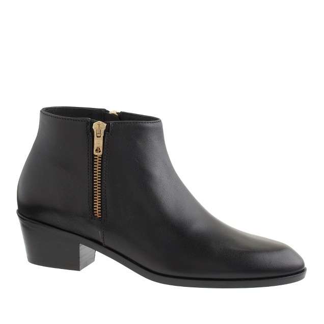 Remi double-zip ankle boots