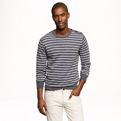 Slim Sedona shoulder-button sweater