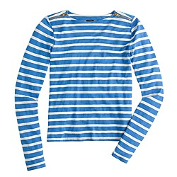 Painter T-shirt with zips