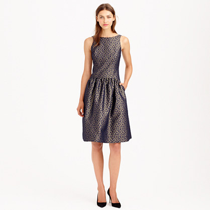 Collection daisy jacquard dress