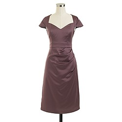 Tinsley dress in stretch satin