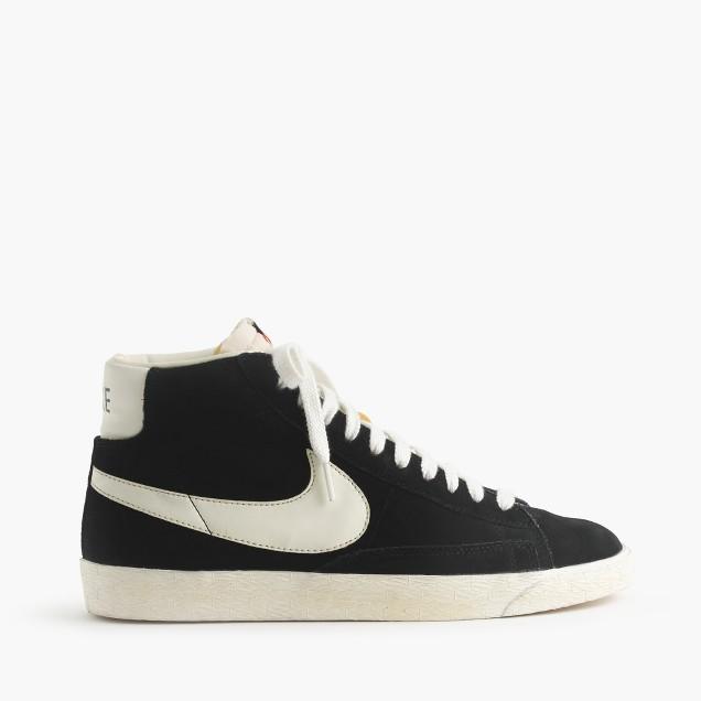 Men's Nike® Blazer high suede vintage sneakers