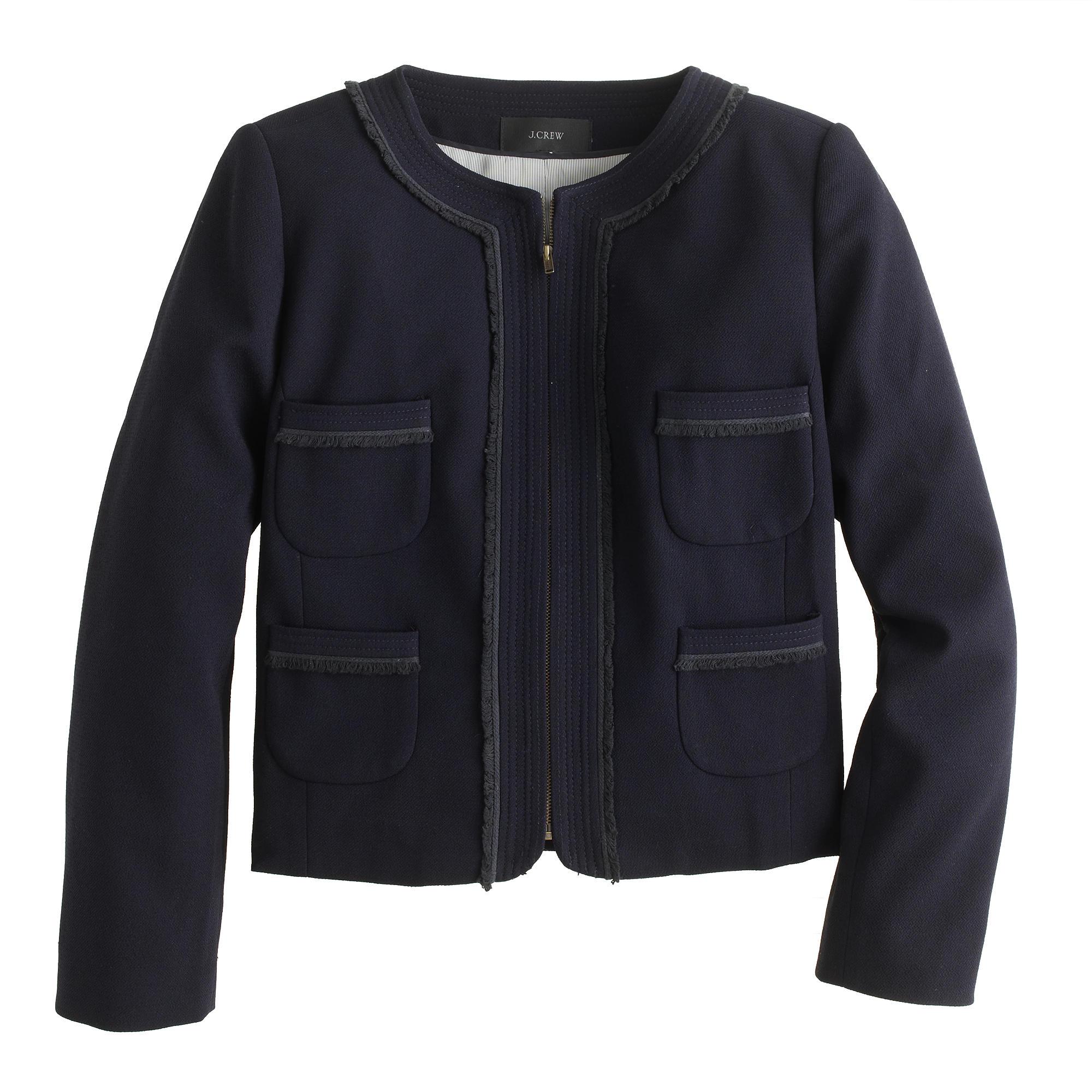 Cropped jacket : | J.Crew