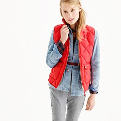 Excursion quilted down vest