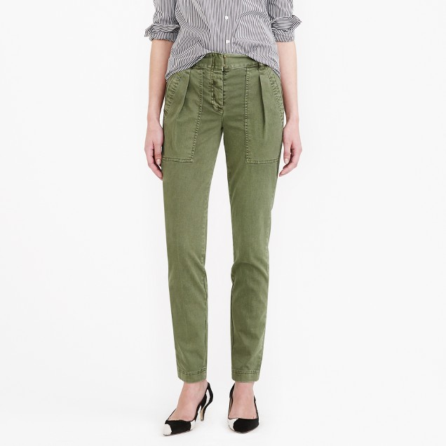 High-rise cargo pant