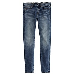 Tall toothpick Japanese selvedge jean in hulton wash