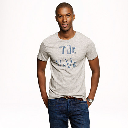 "Hugo Guinness™ for J.Crew ""The Wave"" T-shirt"