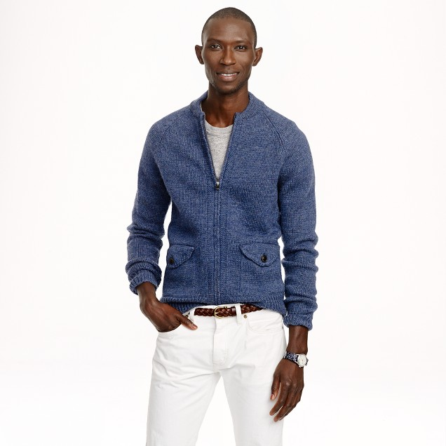 Wallace & Barnes full-zip sweater