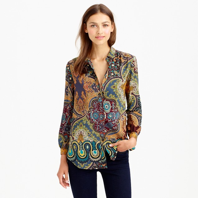 Collection paisley blouse