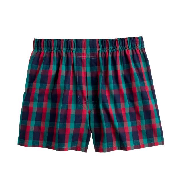 Glasgow tartan boxers