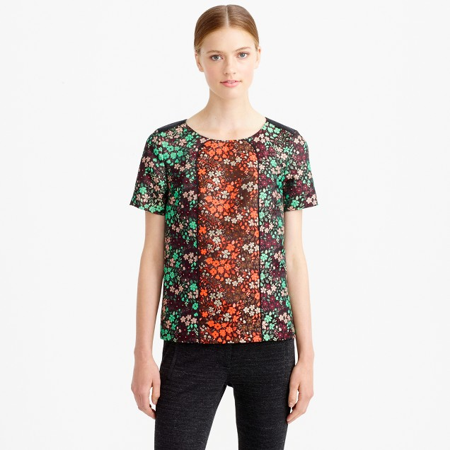 Collection pop floral top
