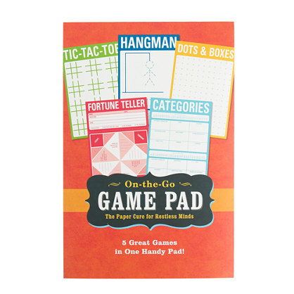Knock Knock® On-the-Go game pad
