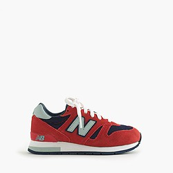 Kids' New Balance® for crewcuts K1300 lace-up sneakers in flame