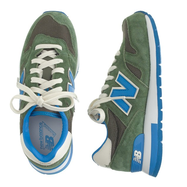 Kids' New Balance® for crewcuts K1300 lace-up sneakers in olive