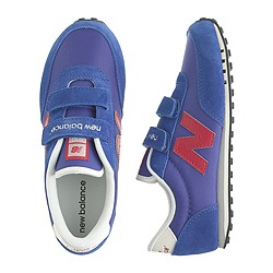 Kids' New Balance® for crewcuts KE410 Velcro® sneakers in bright blue