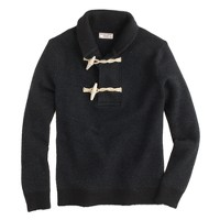 Wallace & Barnes boiled wool toggle sweater