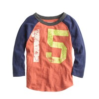 Boys' #15 baseball T-shirt