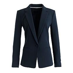Petite Japanese crepe blazer