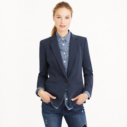 Japanese crepe blazer
