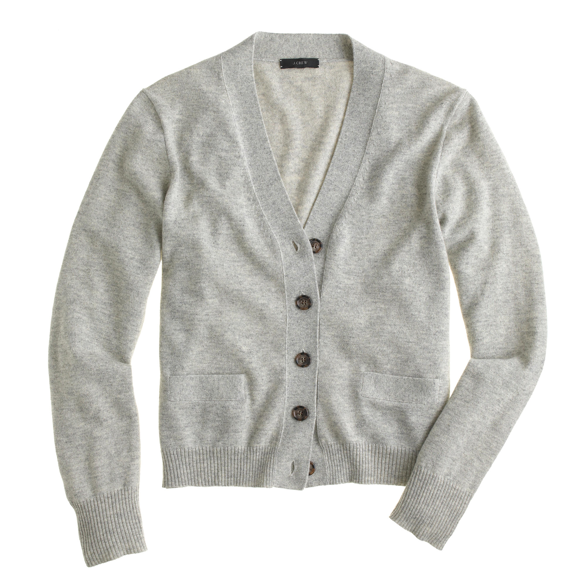 Petite Wool Cardigan Sweater - Cardigan With Buttons